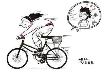 hell rider by DemonJN