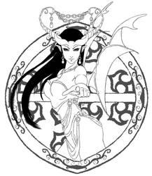 Ink demon by DemonJN