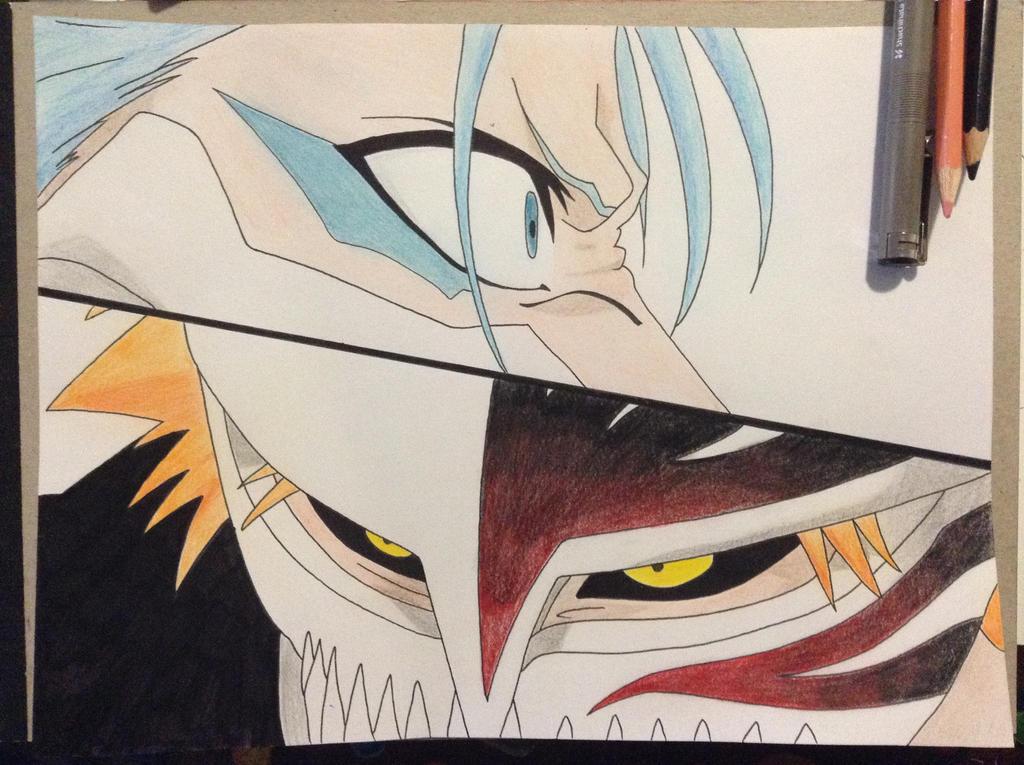 Ichigo vs Grimmjow by TheSassyFox