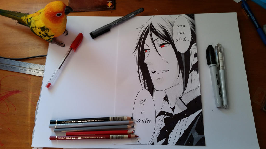 Sebastian Michaelis - Black Butler! by TheSassyFox