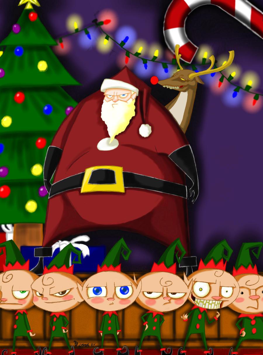 Happy Holidays and WTF? by Kiru100