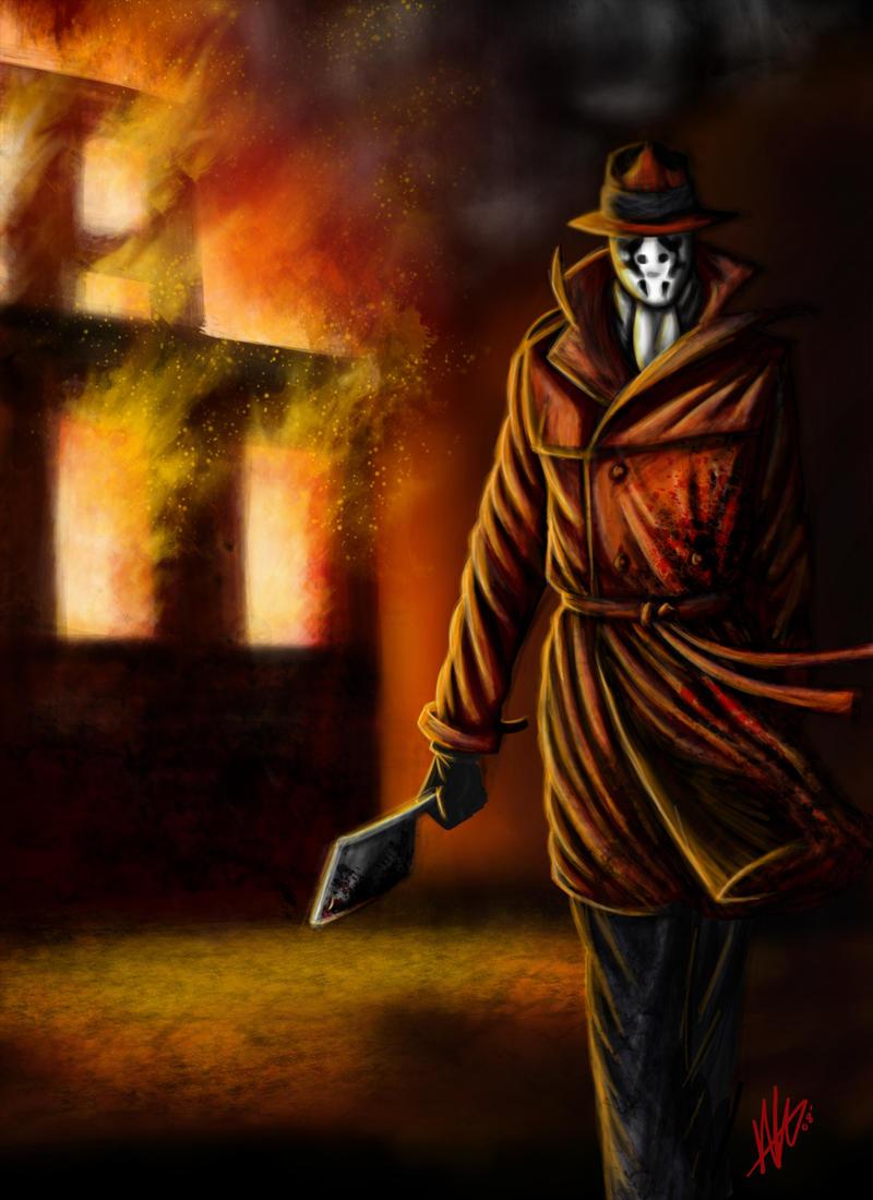 Was Rorschach by Kiru100