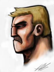 Quick Paint: Tough Guy by Kiru100