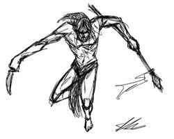 Quick Sketch: Tarzan by Kiru100