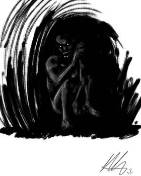 Quick Paint: Spook in the Cave