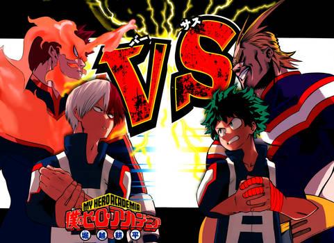 Boku no Hero Academia 37 Complete Color Redraw