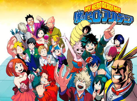 Boku no Hero Academia 52 Complete Color Redraw