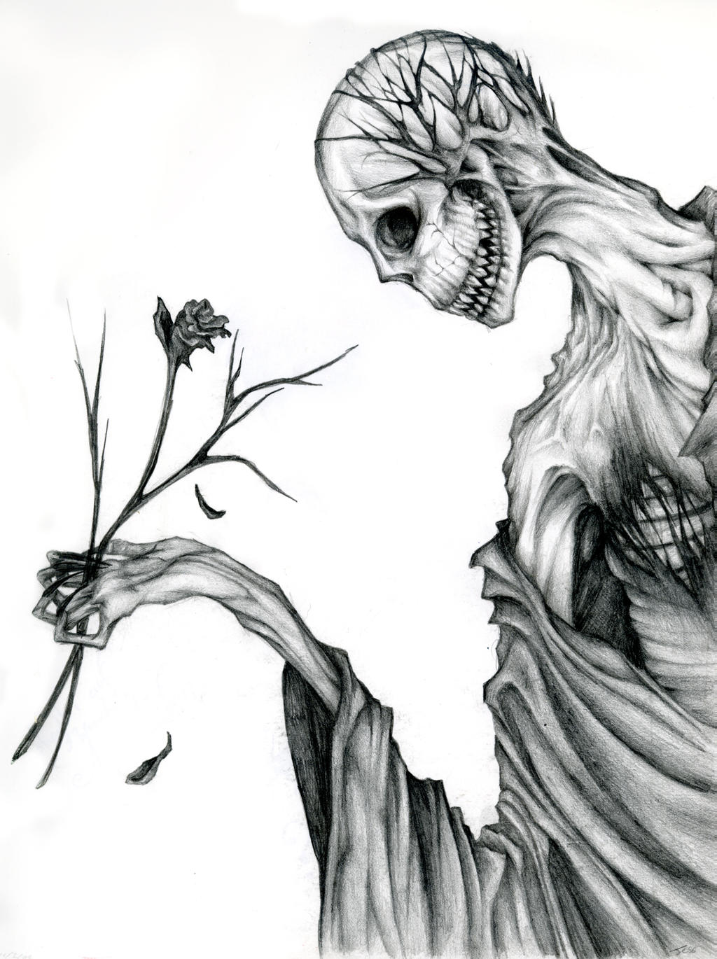Line Art With Mr E : Mr dead roses by drippingxpitch on deviantart