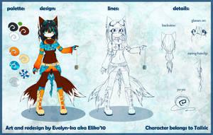 -tailsic redesign- by Evelyn-ka-aka-Eliko