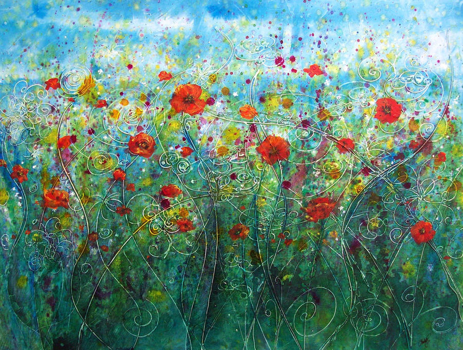 Poppy flower field by christystudios on deviantart poppy flower field by christystudios mightylinksfo Image collections