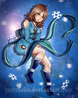 Ice Princess Taeris Daone by justxneko