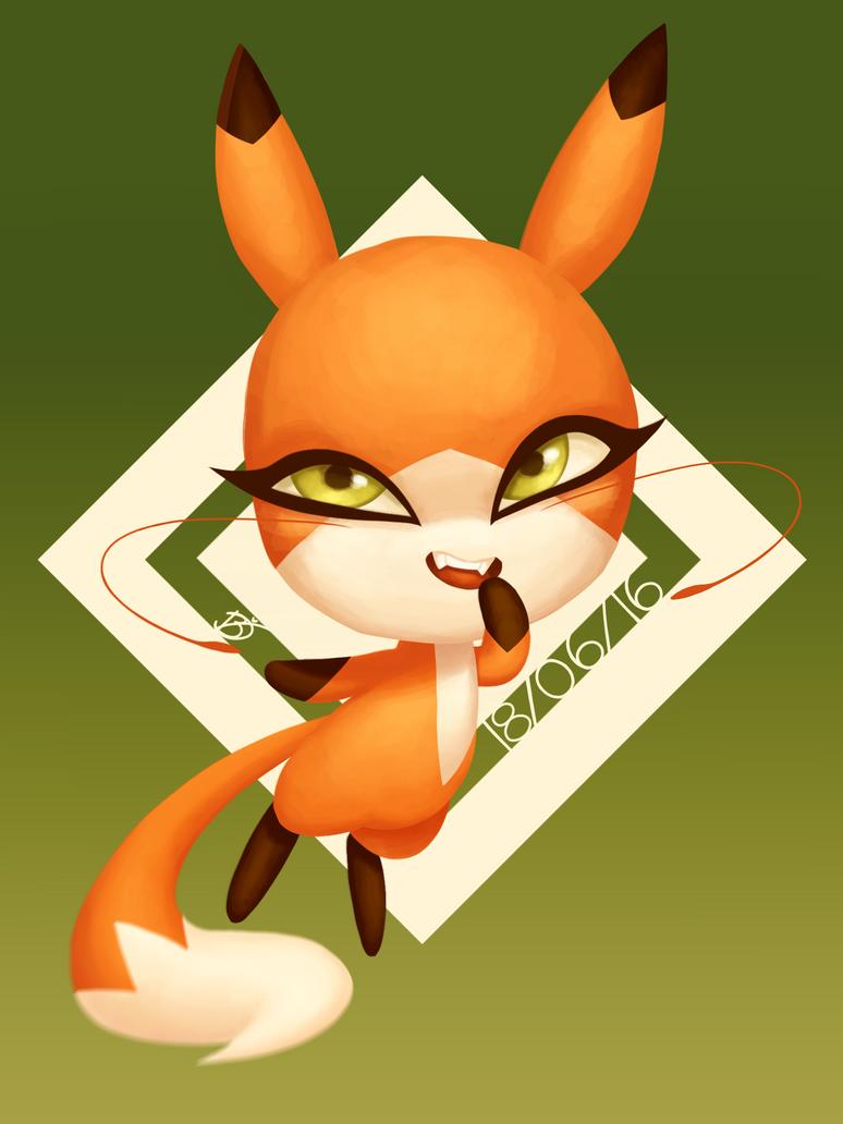 fox kwami!! by Zylenii