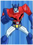 TF Animated Optimus Prime