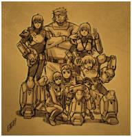 ROBOTECH: TNG group pic by iq40