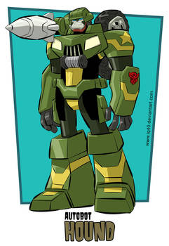 Transformers Animated Hound