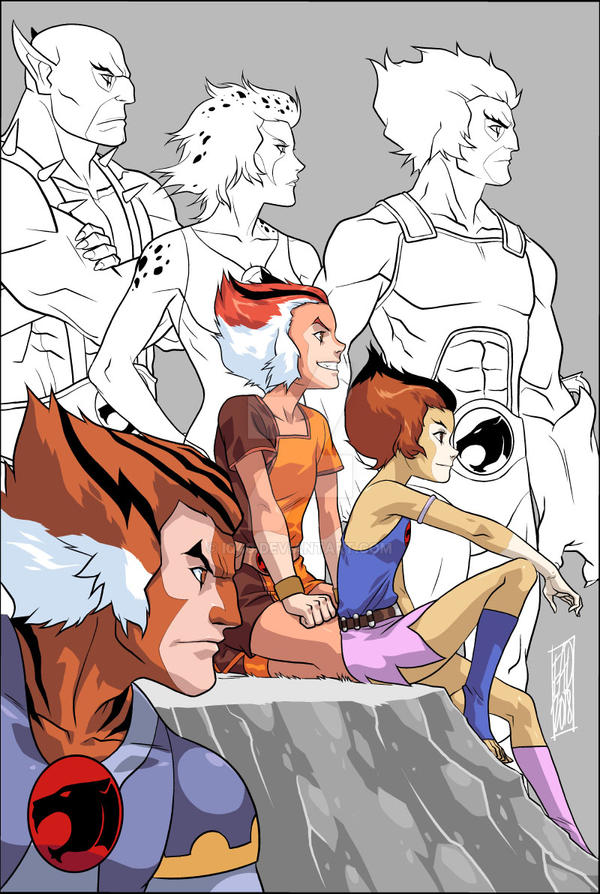 MY Thundercats WIP by iq40