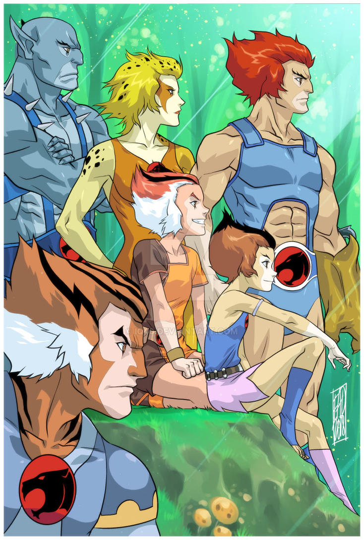 1980s Thundercats FINAL ART by iq40