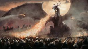 Epic Dragon Battle