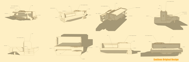 Exetleos original design bachelor 39 s furniture by for Original design furniture