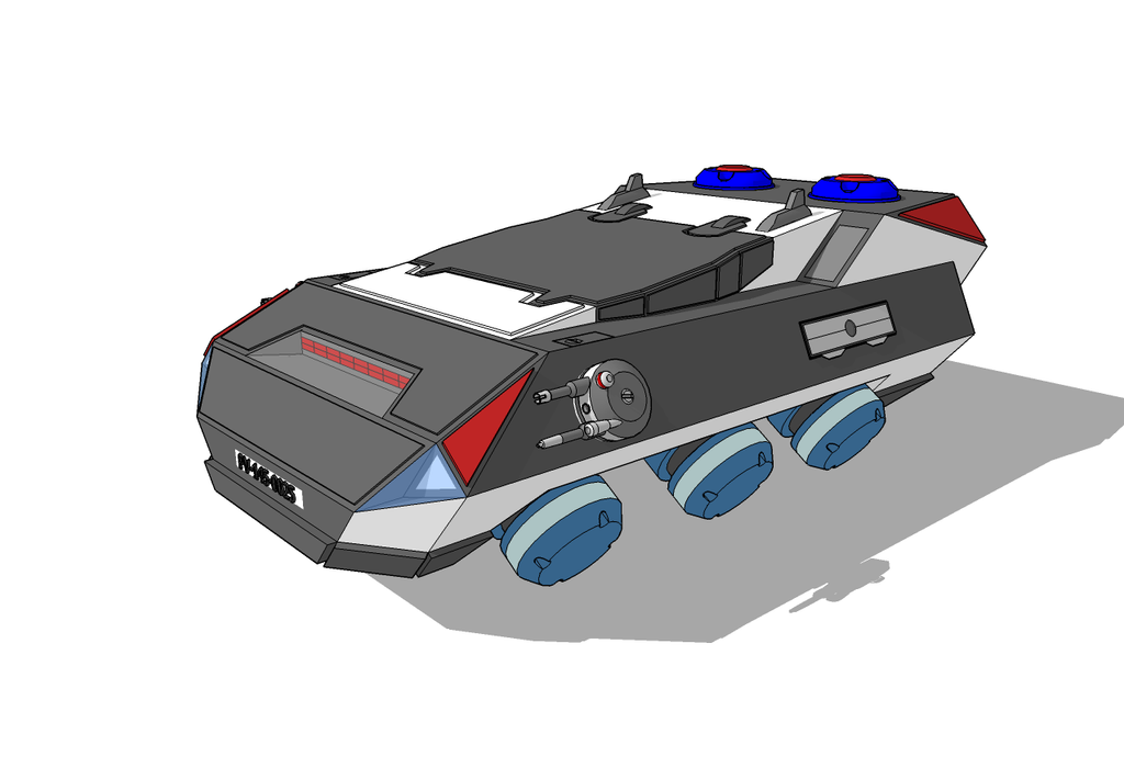 dystopian future police car wip by exetleos on deviantart