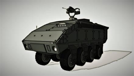 Centaur MRAP (WIP) by exetleos