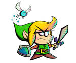 Angry Chibs Link (The Legend of Zelda) by ramirez909