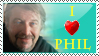 I Love Phil Stamp by Sayurisye