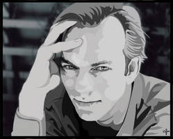 Hugo Weaving by Sayurisye