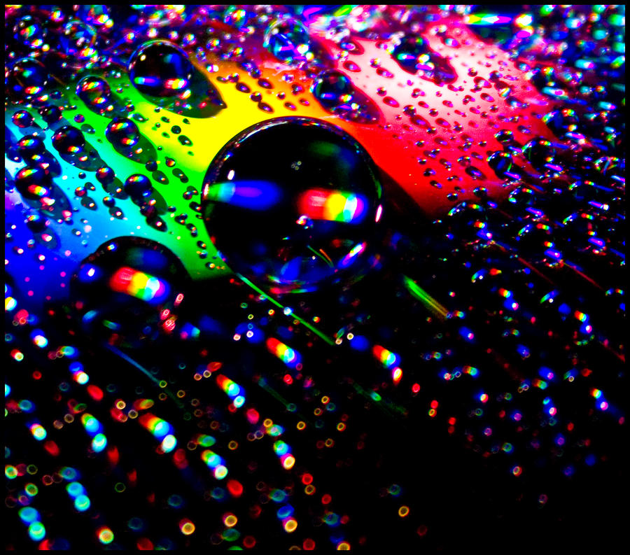 Rainbow drops 2 by stina-star