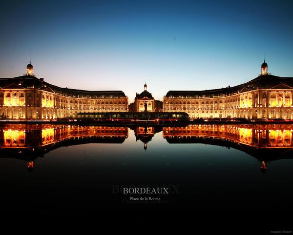 Bordeaux Place de la bourse by maggot09