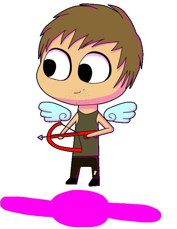 Daryl Dixon Valentine by NinjaZombieCat