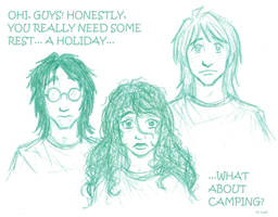 HP7: camping by kia88
