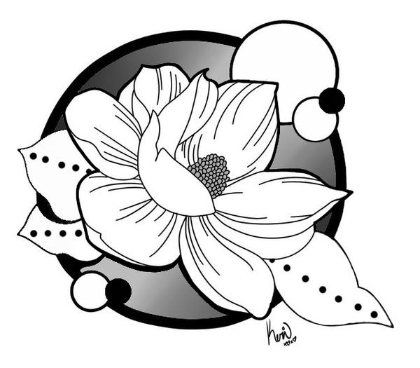 Magnolia Tattoo By Queenkeri On Deviantart