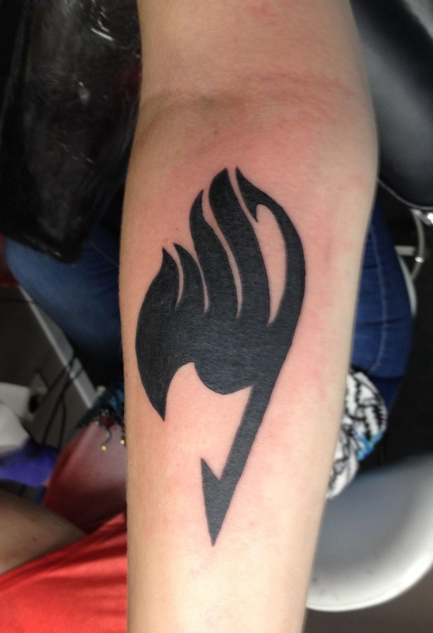 Fairy Tail Tattoo Mark By Starflucks On Deviantart