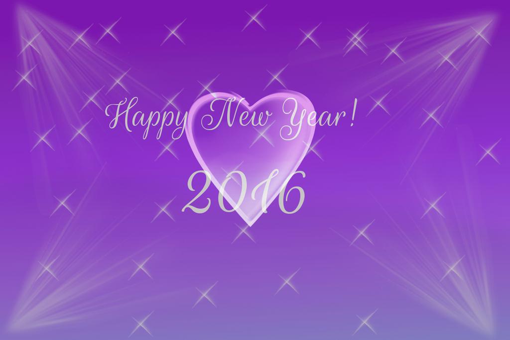Happy New Year! 2016 by DarkJanet