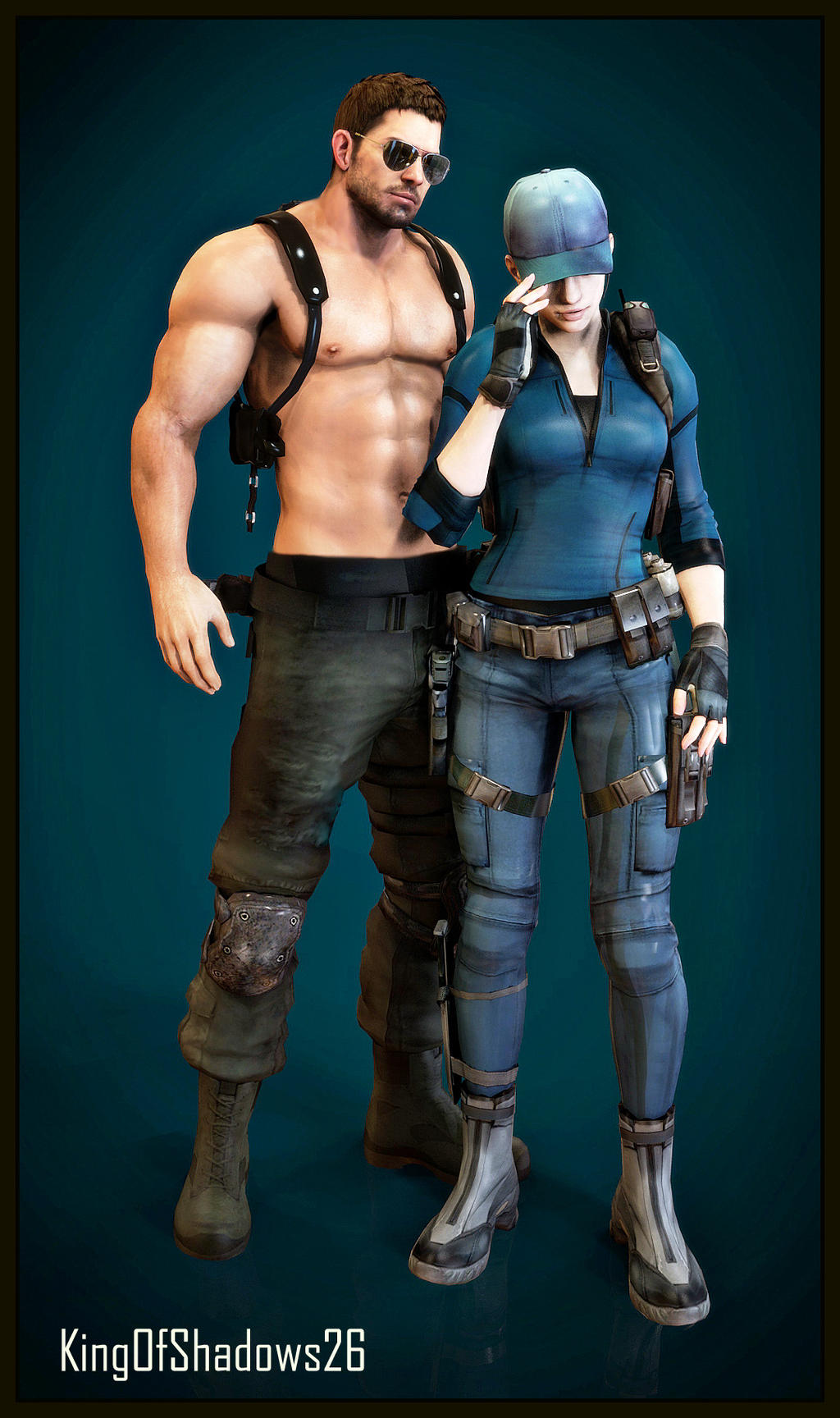 jill valentine and chris redfield relationship trust