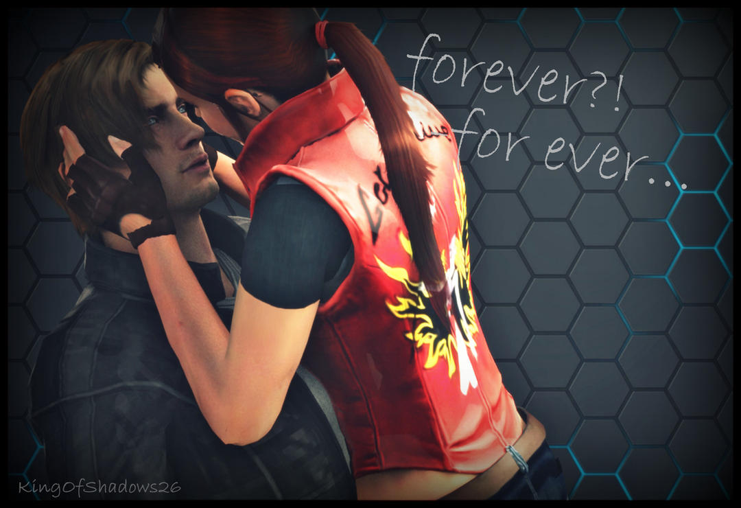 Leon and Claire ( for ever baby...) by kingofshadows26