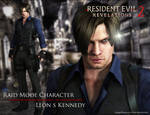 Leon S Kennedy (petition Raid mode Character)