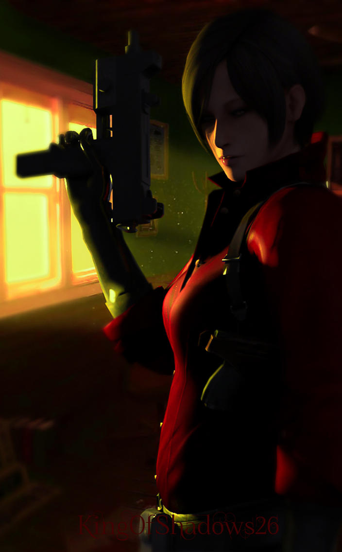 beautiful spy! ( Ada wong) by kingofshadows26
