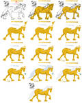 Horse Coloring Tutorial