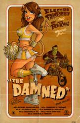 Damned , EF, Bellrays Poster by blitzcadet