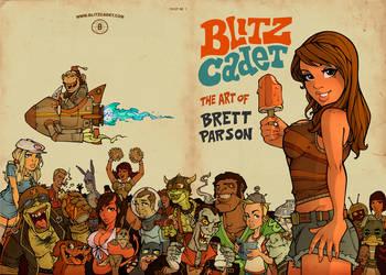 Art Book Cover by blitzcadet