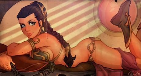 Princess Leia Centerfold