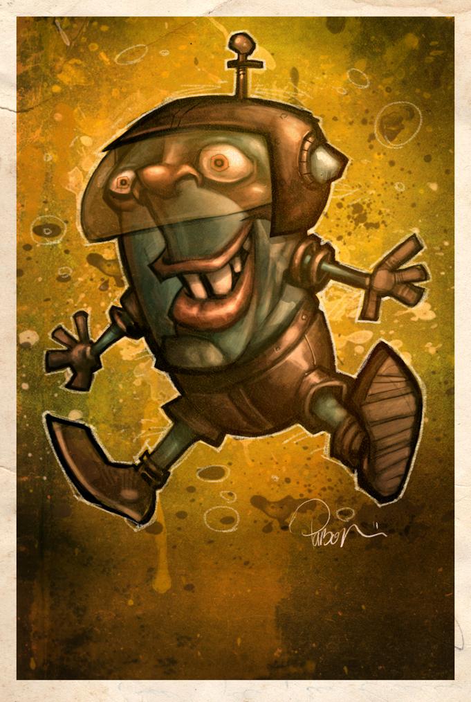 Booger Gremlin by blitzcadet