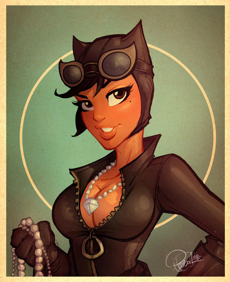 Catwoman Sketch by blitzcadet