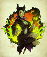 Maleficent by blitzcadet