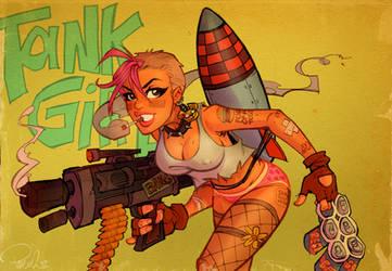 TankGirl by blitzcadet