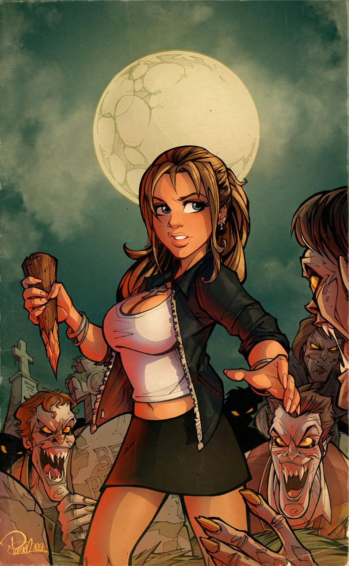Buffy the Vampire Slayer by blitzcadet