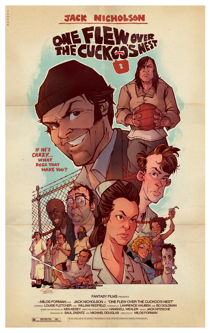 One Flew Over the Cuckoo's Nest by blitzcadet