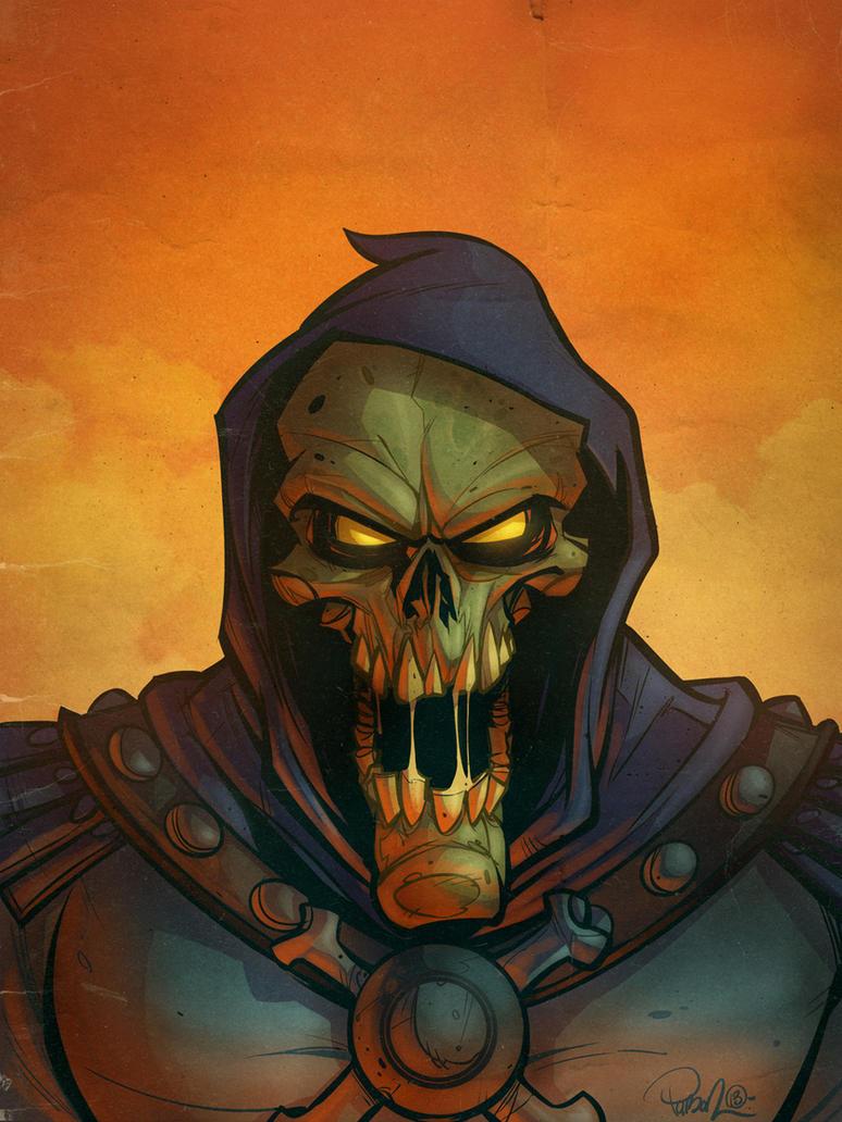 Skeletor by blitzcadet